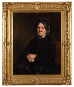 Janet (Drummond) Wanliss (1801-1876) of Jamesfield, Carpow, and St. Magdalene's farm, Perth, about 1860